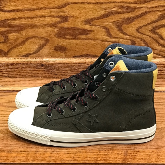 Converse One Star Player Suede Hi Hot Cocoa Soba 3d7efd6b0